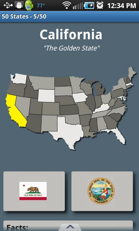 50 States - Free- screenshot