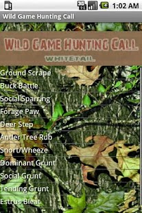 Wild Game Hunting Call- screenshot thumbnail