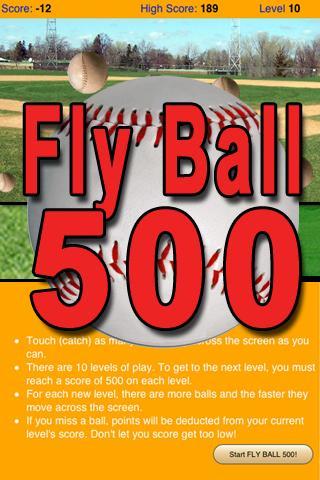 Fly Ball 500