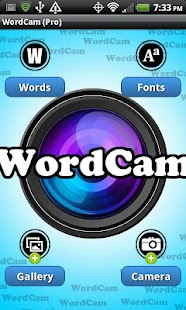 WordCam! (PRO)- screenshot thumbnail