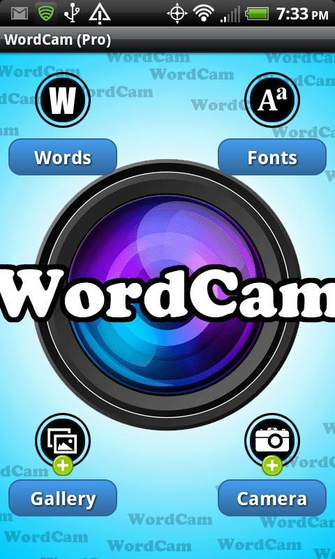 WordCam! (PRO)- screenshot