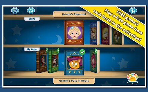 玩免費娛樂APP|下載Grimm's Bookshelf app不用錢|硬是要APP