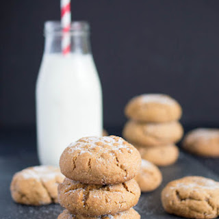 Ultra Thick and Chewy Ginger Sugar Cookies