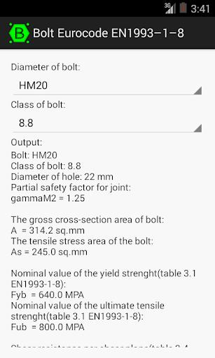 免費生產應用App|Bolt by Eurocode EN1993-1-8|阿達玩APP