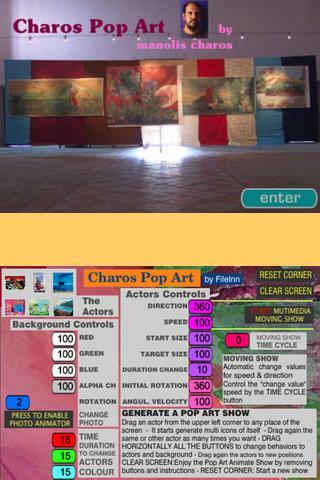 Charos Pop Art- screenshot