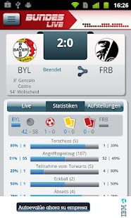 Bundesliga Live - screenshot thumbnail