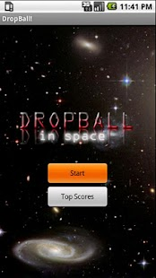 DropBall in Space! - screenshot thumbnail