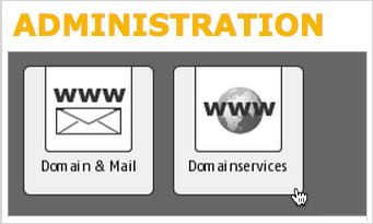 Domain Services option