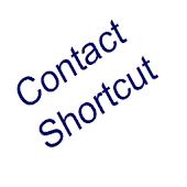 Contact shortcut widget