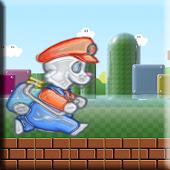 Mario Rabbit Run