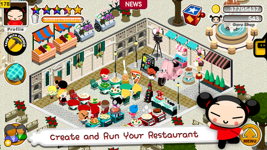 Pucca n' Friend - screenshot