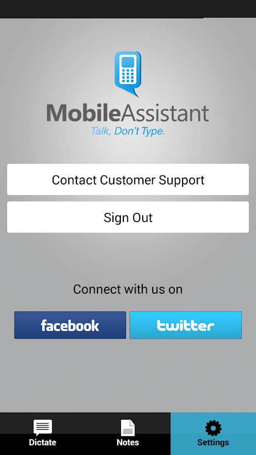 TALK IT By Mobile Assistant- screenshot
