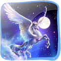 Flying Pegasus in 3D (PRO) logo