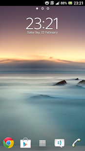 Digital Clock Widget Xperia- screenshot thumbnail