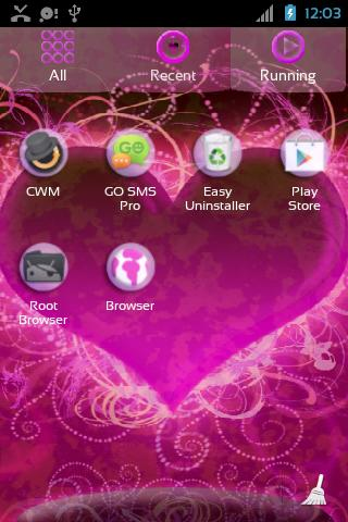 Hearts Themes for GO Launcher- screenshot