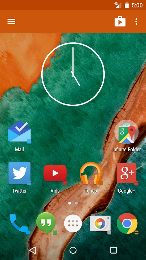 Action Launcher 3 - screenshot