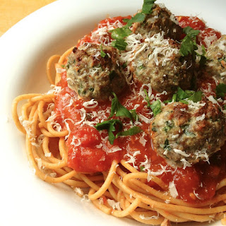 Beef and Ricotta Meatballs.