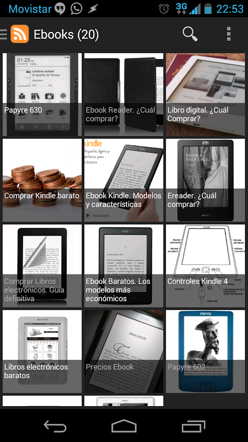 Las Mejores Aplicaciones Android Back to School: Readers of Ebooks