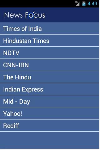 【免費新聞App】News Focus-Daily News-APP點子