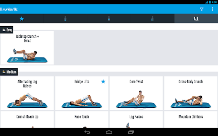 Runtastic Six Pack Abs Workout Screenshot 26
