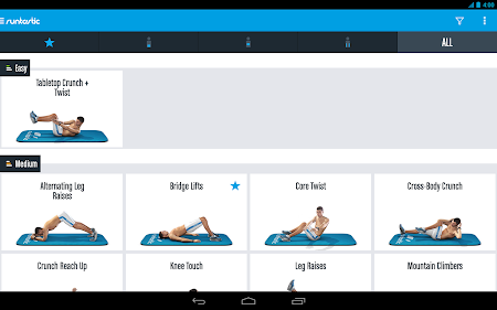 Runtastic Six Pack Abs Workout 1.3 screenshot 31784