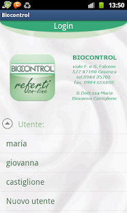Biocontrol Referti on-line- screenshot thumbnail