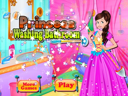 浴室洗公主遊戲