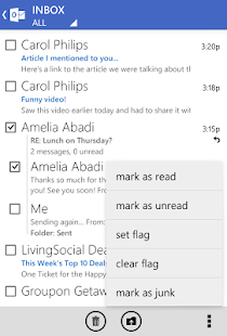 App Outlook.com APK for Kindle