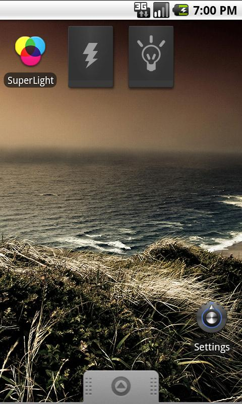 SuperLight Flashlight - screenshot