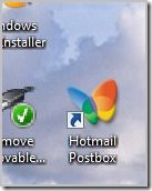 shortcut to hotmail inbox