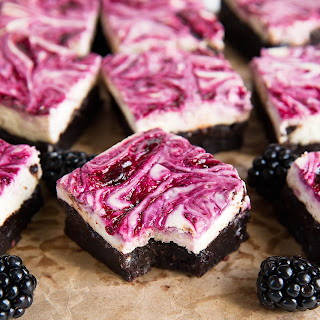 Blackberry Cheesecake Brownies