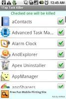 Screenshot of 1Tap Task Killer