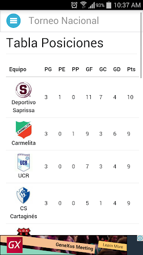 Torneo Nacional de Costa Rica