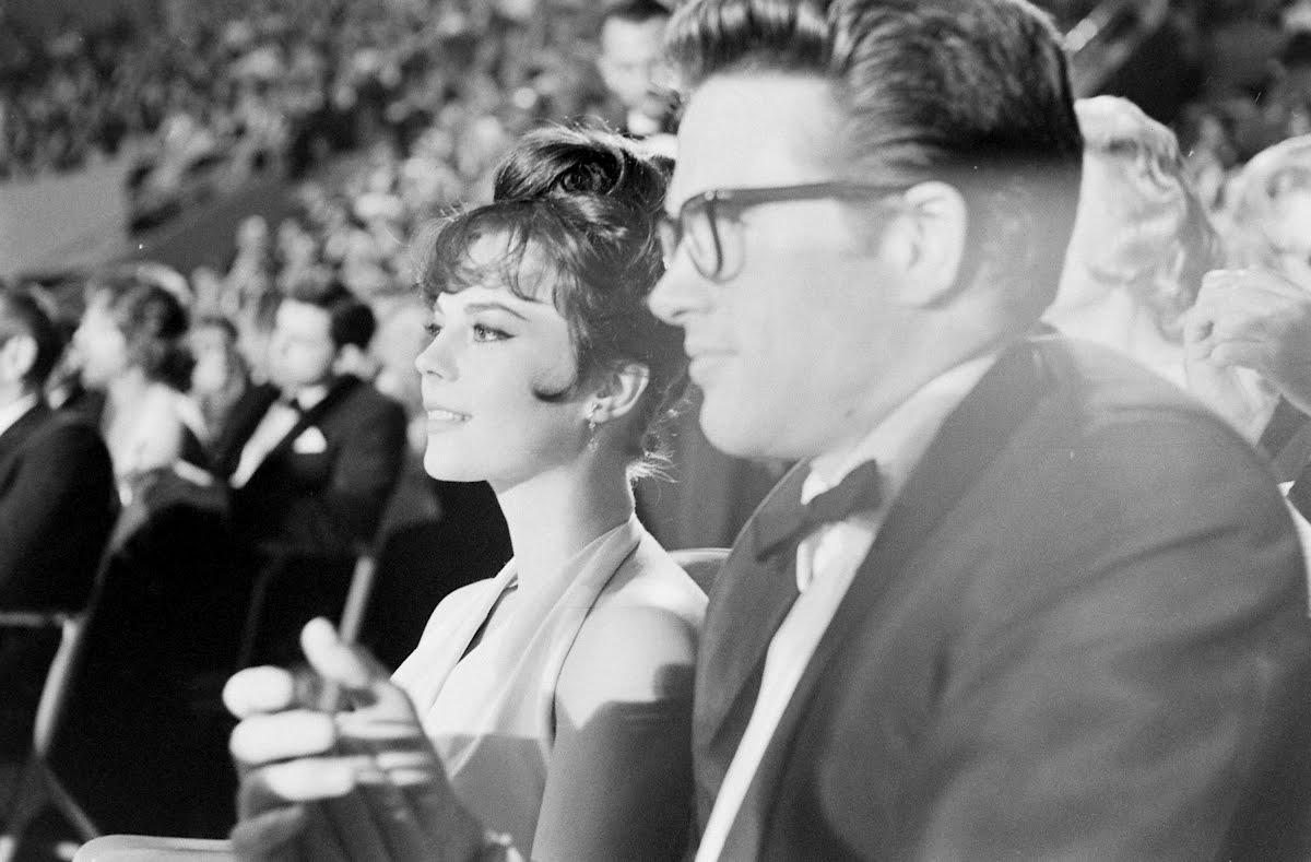 Academy Awards And Natalie Wood Dressing For A Premier