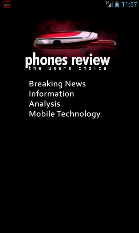 Phones Review - screenshot