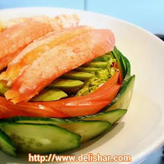 Snow Crab Kani Avocado Salad & Wafu Dressing + Giveaway!.