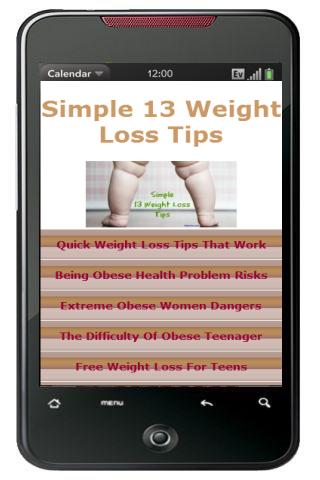 Simple 13 Weight Loss Tips