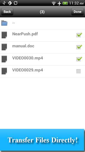 WiFi File Transfer - NearPush