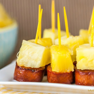 Sausage and Pineapple Party Bites Recipe