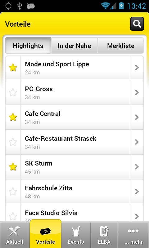 Raiffeisen Club - screenshot