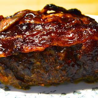 Glazed Bacon Meatloaf.