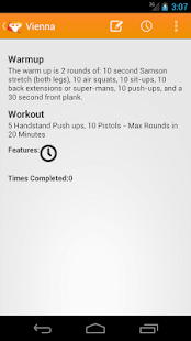 Travel WODs: Travel Workouts - screenshot thumbnail