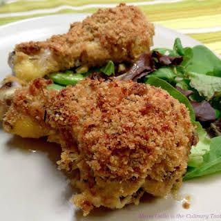 Crispy Chicken Drumsticks aux Trois Herbes.