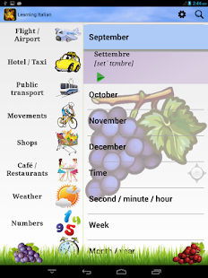 Learning Italian (Phrasebook)- screenshot thumbnail