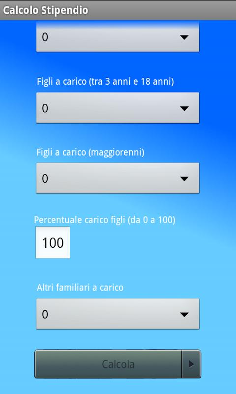 Calcolo Stipendio - screenshot