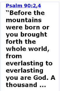 Bible Verse of the Day - screenshot thumbnail