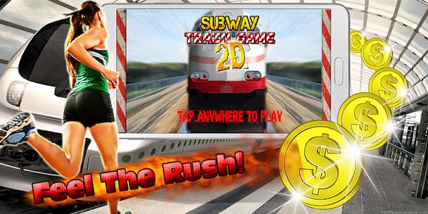 Subway Train Run 2D