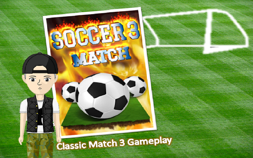 Soccer 3 Match: Action Puzzle