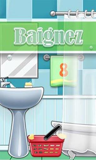 Baignez GO Launcher Theme