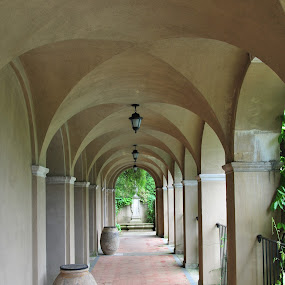 Follow the path by Austin Lawler - Buildings & Architecture Architectural Detail ( arch, groin vault, architectural detail, architecture,  )